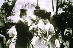 Mr. and Mrs. Goodhue Livingston with Mrs. Alfred Gwynne Vanderbilt, members of The Four Hundred.