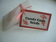 disc's, Bob's mints or red & green M & M's. Cute candy cane seed poem ...
