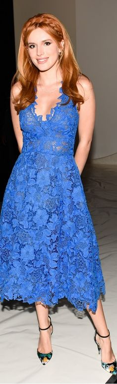 Bella Thorne at Monique Lhuillier Fashion Show - #NYFW Spring 2016