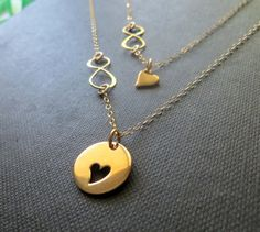 Hey, I found this really awesome Etsy listing at https://www.etsy.com/listing/210082320/mother-daughter-necklace-mother-daughter