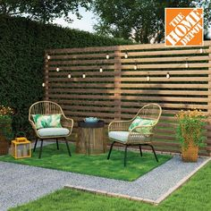 The Home Depot is your place for backyard and patio inspiration this summer. Whether your style is lounging with a good book, or entertaining guests late into the night, we've got you covered for your patio needs.