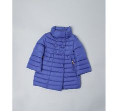 Moncler TODDLER electric blue quilted nylon 'Johanna' double breasted down coat  Perfect for next year!
