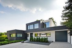Klinkerhaus Modern residential building, Münster - The Home Decor Trends Architecture Today, Architecture Magazines, Concept Architecture, Facade Architecture, Residential Architecture, Architecture Visualization, Construction, Modern House Plans, Home Fashion