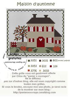 Les 307 meilleures images du tableau point de croix grilles gratuites free pattern cross - Image automne gratuite imprimer ...