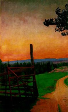 Art Inconnu - Little-known and under-appreciated art.: Harald Sohlberg (1869-1935)