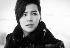 black and white jang geun suk gif | WiffleGif