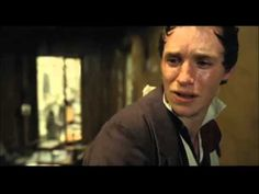 Eddie Redmayne singing  -  'Empty Chairs at Empty Tables'