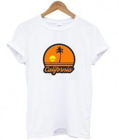 About california sunset beach t-shirt REW.This T-shirt is Made To Order, we print one by one so we can control the quality. Sunset Beach California, Beach T Shirts, Fashion 2017, Fashion Trends, Trendy Swimwear, One Piece Swimwear, Bikini Swimwear, Swimsuits, Direct To Garment Printer