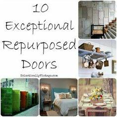 10 Exceptional Repurposed Doors