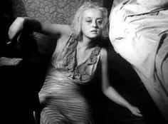 "Bette Davis in ""Of Human Bondage""."