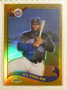 $2.99 2002 Topps Chrome Refractor MO VAUGHN BB Card #625 New York Mets #NewYorkMets http://www.ebay.com/itm/2002-Topps-Chrome-Refractor-MO-VAUGHN-BB-Card-625-New-York-Mets-/272258404082?ssPageName=STRK:MESE:IT