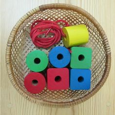 lg bead sewing Montessori Practical Life Sequence