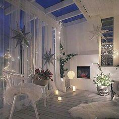 Decoração natalina - All About Balcony Interior Design Living Room, Living Room Decor, Bedroom Decor, Living Spaces, Home And Deco, Dream Rooms, My New Room, House Rooms, Room Inspiration