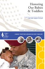 This 3-piece set, designed for professionals and military parents, provides methods to support young children affected by stress, trauma, grief, and loss due to a military parent's deployment, injury, or death.