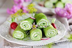 Naleśniki szpinakowe z serkiem śmietankowym i ziołami Japanese, Ethnic Recipes, Blog, Japanese Language, Blogging