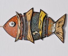 FuNkY FiSh Handmade Ceramic by Cold Comfort by ColdComfortPottery, $75.00