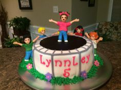 Trampoline Party - Trampoline cake