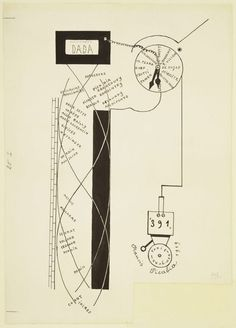 Dada Movement by Francis Picabia