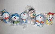 the original cartoon doll jingle doraemon doraemon 6 pvc set doll bulk sale #transformer