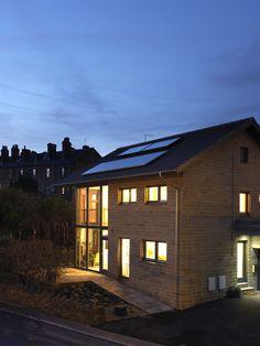 Denby Dale Passivhaus - the UK's first cavity wall Passivhaus