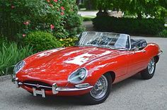 E-Type 1963 Jaguar XKE Roadster