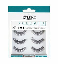 b0d0fa6c23b Eylure Strip Lashes No.101 (Volume) Multipack Pk Of 3