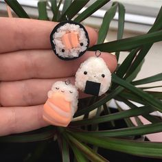 "1,013 Likes, 42 Comments - Rita (@rita_finysha) on Instagram: ""Sushi!  ( all three added to Etsy, link in bio ) These are so adorable! Since I had no idea how…"""