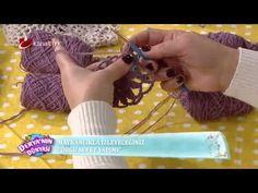Derya Baykal   Deryanın Dünyası    Örgü sepet yapımı Free Crochet Bag, Crochet Bowl, Crochet Granny, Crochet For Kids, Crochet Yarn, Crochet Stitches, Crochet Patterns, Knitting Videos, Crochet Videos