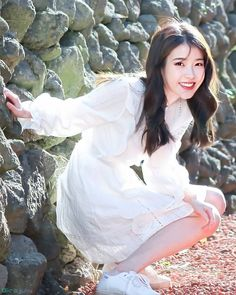 Discover recipes, home ideas, style inspiration and other ideas to try. Iu Fashion, Korean Actresses, Snsd, Photo Cards, Girl Crushes, Kpop Girls, Korean Girl, Beautiful People, Idol