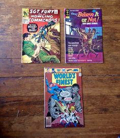 Low condition comic book lot. Sgt Fury by RubbersuitStudios #sgtfury #worldsfinest #comicsforsale