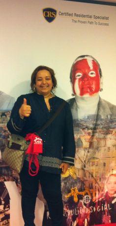 Rosiris Muñoz. La agricultora inmobiliaria que siembra y recoge s cosecha. Cristina de Inmobiliara Monpas en Donostia.