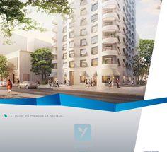 Au centre d'YNFLUENCES Square s'élève BelvY. Une résidence élégante de 16 étages à l'architecture inédite, signée par le cabinet Herzog et de Meuron. Elle est ponctuée de loggias à chaque étage et à chaque angle. Du studio au 5 pièces, choisissez votre appartement de rêve : traversants ou bi-orientés, ils bénéficient d'une exposition au sud, sans vis-à-vis ! http://www.zipimmobilier.com/pgm/69/rhone/lyon/158.html #zipimmobilier #immobilierneuf #immobilier #appartement #logement #lyon…