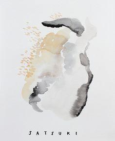 Abstract Paintings by Satsuki Shibuya