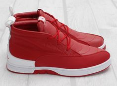 best sneakers e86d0 f79d9 Air Jordan XII Clave - Varsity Red - White - Stealth - SneakerNews.com