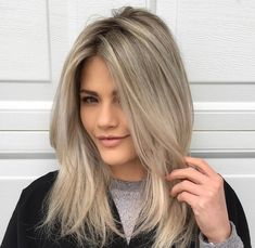 Blonde hair shades, brown hair with blonde highlights, ash blonde h Medium Ash Blonde Hair, Blonde Hair Shades, Brown Hair With Blonde Highlights, Hair Highlights, Ashy Blonde, Hair Color Guide, Pinterest Hair, Pretty Hairstyles, Hair Hacks