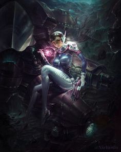 Overwatch-D.Va, yuanlin xia on ArtStation at https://www.artstation.com/artwork/RVr5v - More at https://pinterest.com/supergirlsart #overwatch #dva #d.va #fanart