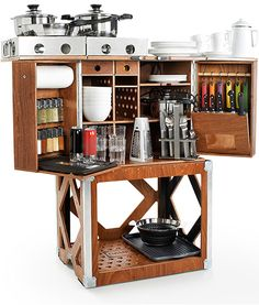 Camp Champ: Mobile Cooking Station - Cooking Gizmos