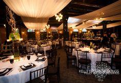 Reception at Nicollet Island Pavilion, Minneapolis / MN