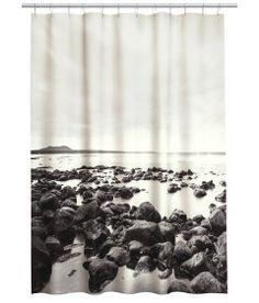 Duschvorhang mit Fotodruck