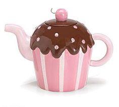 Cupcake tea kettle...adorable. Thanks @Olga Ko Gonzalez for the pin :)