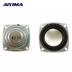 AIYIMA 2Pcs Twetter Audio Loudspeakers Full Range 4Ohm 3W Bluetooth Audio Speakers #Affiliate