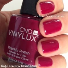 CND Vinylux - Tinted Love, one of my favorite colors for fall!