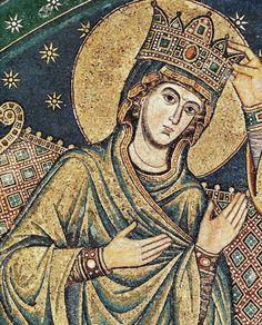 Jacopo Torriti, mosaici abside di Santa Maria Maggiore, Incoronazione della Vergine