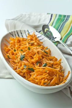French Carrot Salad - ready in only a few minutes, this salad is crazy good and refreshing!