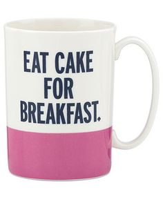 kate spade new york Mugs, Things We Love Collection - Collections - for the home - Macy's for makeup brushes
