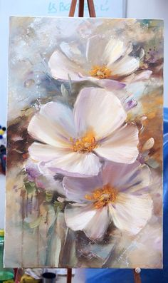 Amazing flower painting. Мастер-класссы