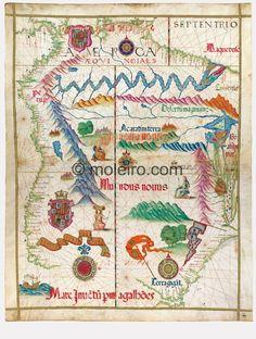Map No. 3. America, Universal Atlas