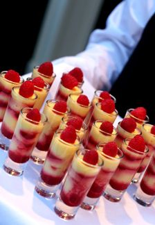 Picturing this with layered almond cake, strawberries and whipped cream. A cake shooter! Kindov like the strawberry shortcake kabobs, but in a glass so we can make ahead.