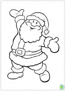 Santa Claus Coloring Sheets Geniuscoloringkids Com Dengan