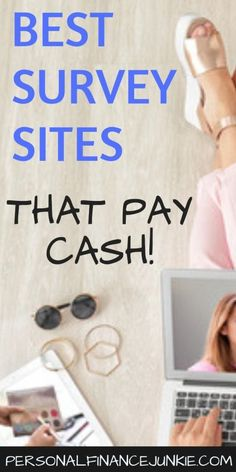 The four best online surveys for money. Take surveys for money at home and earn extra cash with these legit sites. Make Money Taking Surveys, Surveys That Pay Cash, Online Surveys For Money, Earn Money From Home, Earn Money Online, How To Get Money, Paid Surveys, Managing Money, Online Jobs